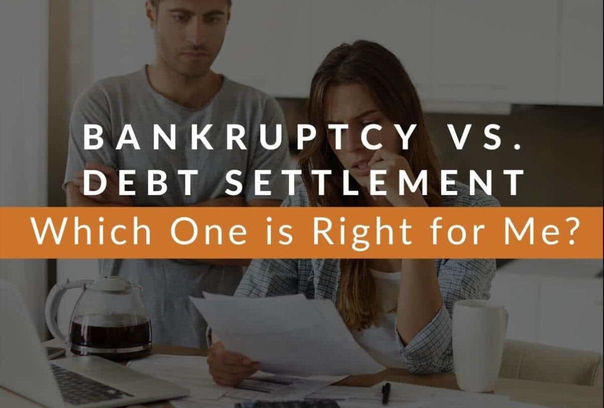 Debt Settlement Vs Bankruptcy